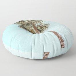 Single Palm Floor Pillow