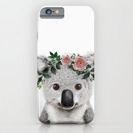 Koala Print iPhone Case
