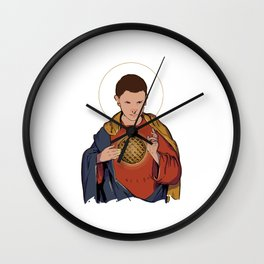 Our Lady 11 Wall Clock