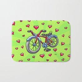 Bike Love Bath Mat