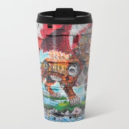 Detroit Chimera ( kī-ˈmir-ə ) Travel Mug