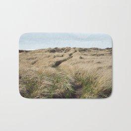 Oregon Dune Grass Adventure - Nature Photography Bath Mat