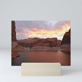 Lake Powell Evenings Mini Art Print