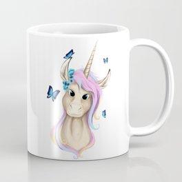 Unicorn Foal Bust Coffee Mug