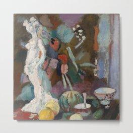 Henri Matisse - Nature morte à la statuette Metal Print
