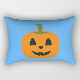 Classic Halloween pumpkin Rectangular Pillow