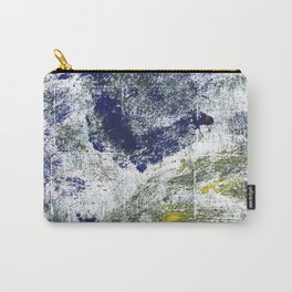 Blue-green abstract Carry-All Pouch