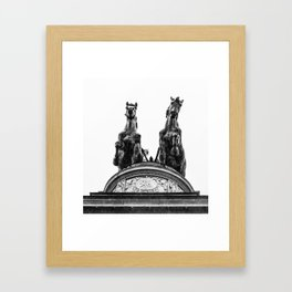 Standing Proud. Framed Art Print