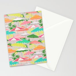 Palm Springs - poolside Stationery Cards