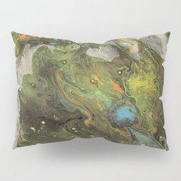 Acrylic Paint Pour (Dirty Pour) 1 Pillow Sham