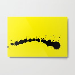 STATIONERY CARD - Ink Metal Print