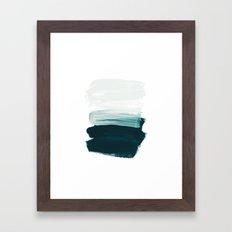 brushstrokes 13 Framed Art Print