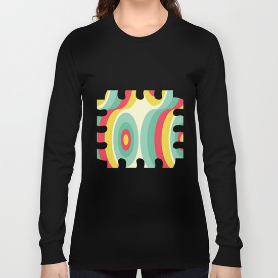 Retro Circles Long Sleeve T-shirt
