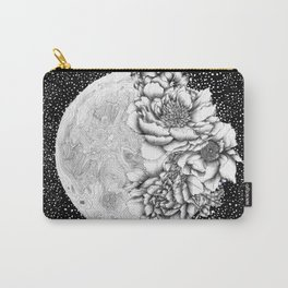 Moon Abloom Carry-All Pouch