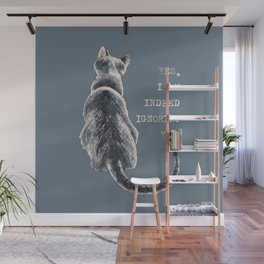 Cat Freedom Wall Mural