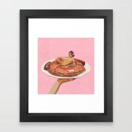 Short Stack Framed Art Print
