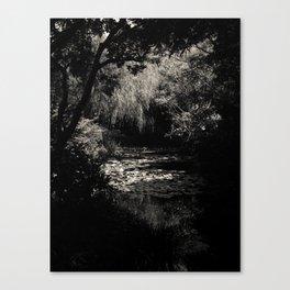 Monet's Garden, Naoshima Canvas Print