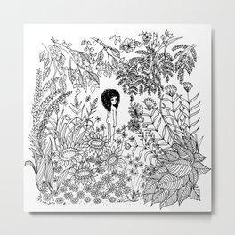 I am Nature Metal Print