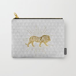 Courage Lion Carry-All Pouch