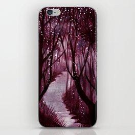 Purple Woos iPhone Skin