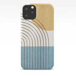 Sunny ocean iPhone Case