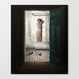 Bathtub Canvas Print