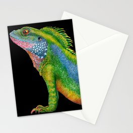Chinese Water Dragon Stationery Cards