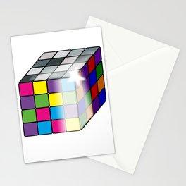 Rubik's Cube Stationery Cards