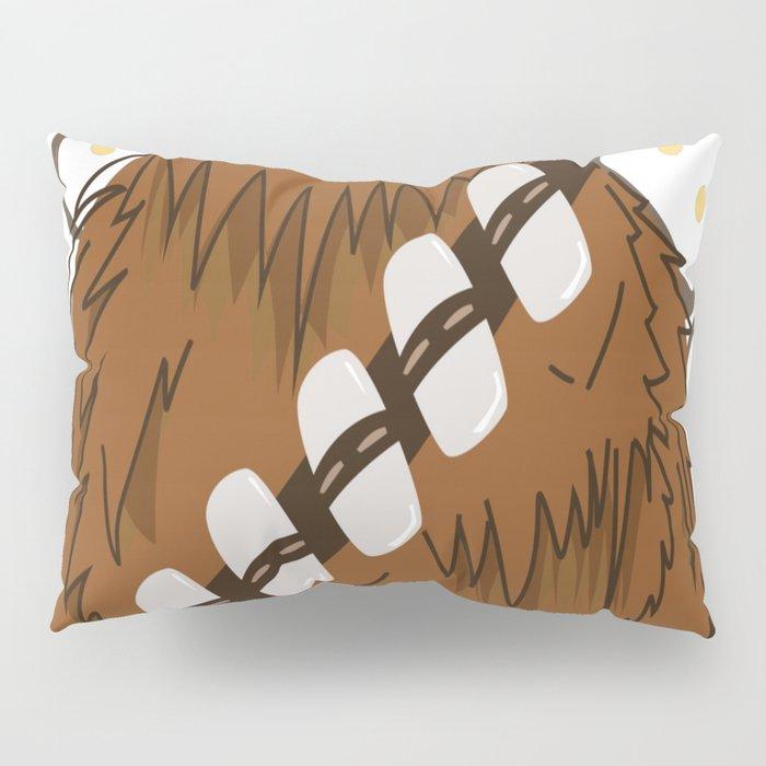 Chewbacca _ Friends Pillow Sham
