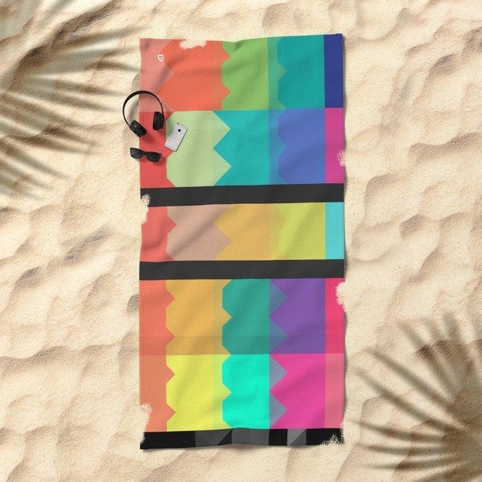 2kyl Beach Towel
