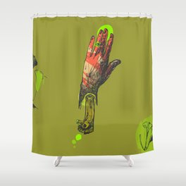 Touch me, I see you Shower Curtain