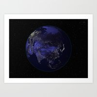Our World 2 Art Print