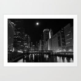 Downtown Chicago Art Print
