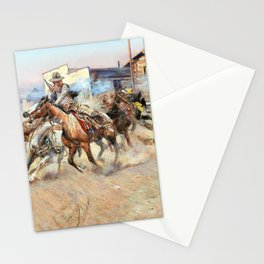 Smoke of a .45 - Charles Marion Russell Stationery Cards