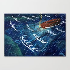 First Judgement (Noah's Ark)  Canvas Print
