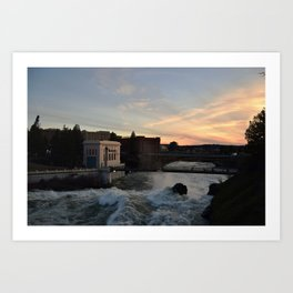 Spokane Beauty Art Print