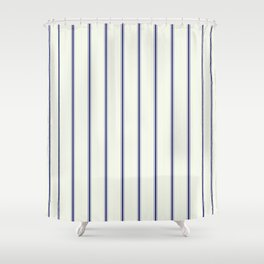 Classic Stripes by Leslie Harlow Shower Curtain