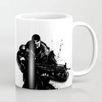 soldier Mugs featuring War Soldier by Studio|19