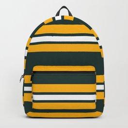 Green Bay Stripes Backpack