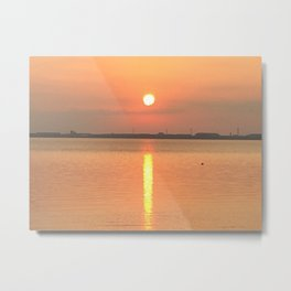 Sunrise in Kuyushu Metal Print