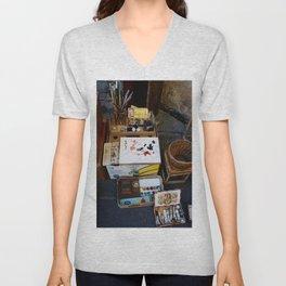The Artist Street Shop - Lucca Unisex V-Neck