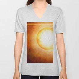 The Cosmic Sun Unisex V-Neck
