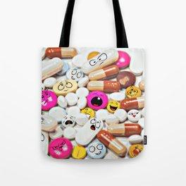 So many faces Tote Bag