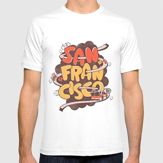 Streets of San Francisco T-shirt