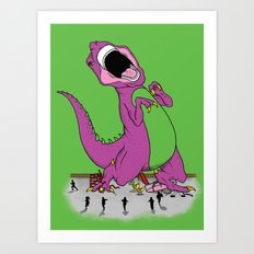 Hey Kids Its Baaaaarrrrrnnneeeeyyy Art Print