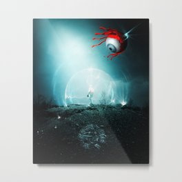 Empty Space Metal Print