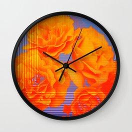 The Glitch Hiatus 01 Wall Clock