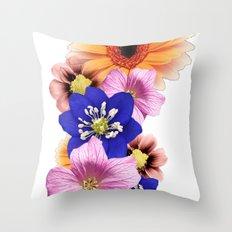 Flower Power. Throw Pillow
