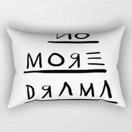 Basquiat No More Drama Rectangular Pillow