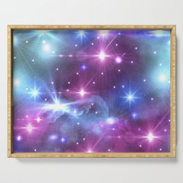 Fantasy Space Glow Serving Tray